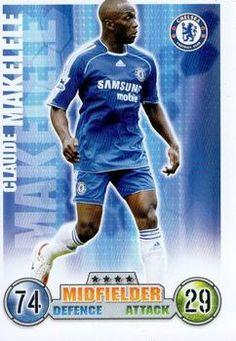 2007-08 Topps Premier League Match Attax #86 Claude Makelele Front