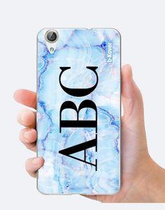 funda-mármol-azul-claro-personalizada Custom Cases, Phone Cases, See Through, Light Blue, Mobile Cases, Blue Nails, Phone Case