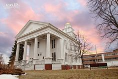 Lapeer County Courthouse, the oldest courthouse in Michigan still in use