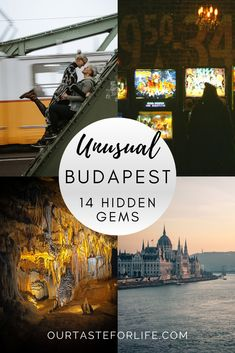 Looking to get off the beaten path in the Hungarian Capital? In our guide, we list 14 of the most unusual hidden gems in Budapest. #budapest #hungary #europe #trip #city #travel #explore #adventure #unusual #hiddengems #guide #itinerary Beautiful Places To Travel, Best Places To Travel, Cool Places To Visit, Asia Travel, Travel Tips, Budapest Travel, Hungary Travel, Unique Hotels, Budapest Hungary
