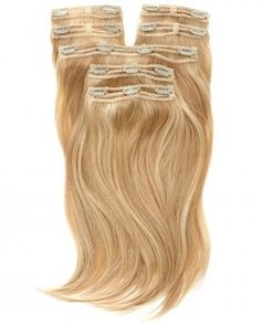 Here they are! The Triple Weft Hair Extensions...Less Clips & More Hair. Amazing :p