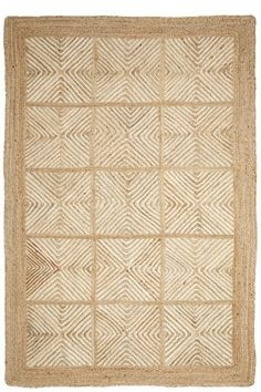 Hand braided by skilled artisans in India, this playful neutral Labyrinthe Rug compliments any space or room. Enjoy off by entering the code through Fabric Rug, Cushion Fabric, Summer House Interiors, Eclectic Furniture, Shades Of Beige, 4x6 Rugs, Hand Painted Furniture, Jute Rug, Coastal Style