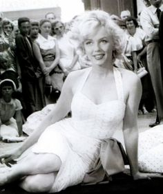 Marilyn at Grauman's Chinese Theater, June 26, 1953.