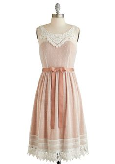 Radiate Romance Dress. Don this darling lace party dress from Ryu and show off your enchanting style! #modcloth