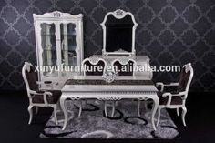 European dining furniture classic dining table and chair