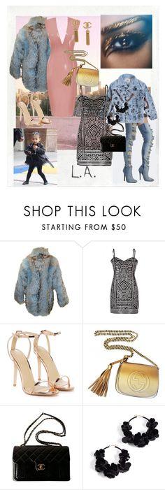 """My fashion icon"" by pucca-mouastar ❤ liked on Polyvore featuring Polaroid, Pat McGrath, Atsuko Kudo, Emilio Pucci, Nasty Gal, Gucci, Chanel, Oscar de la Renta, WishList and kimkardashian"