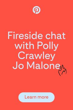 Join Allistair Holt, Senior Partner Manager at Pinterest UK and Global Social Media Manager at Jo Malone, Polly Crawley and get an insight into Jo Malone's Pinterest strategy and how they have found success on the platform.