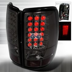 Chevrolet Tahoe 2000 2006 Smoke Led Tail Lights Chevy Z71