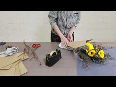 How to create a beautiful Mini Sunflower Bouquet - YouTube