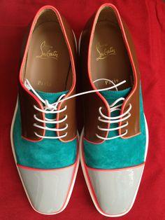 bespoke shoes   colors   Fashion   2016   Colorblock