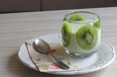 Creme de Kiwi, Iogurte e Banana -