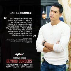 Daniel Henney - Criminal Minds Beyond Borders