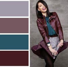 For Color pallette Colour Combinations Fashion, Color Combinations For Clothes, Fashion Colours, Colorful Fashion, Colour Pallette, Colour Schemes, Color Trends, Color Combos, Color Patterns