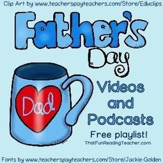 #FathersDayVideos #Free on ThatFunReadingTea...!