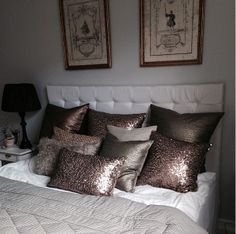 Vacker sänggavel hemma hos Valerie Aflalo   inreda.com/blogg