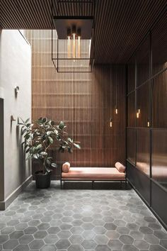 'Minimal Interior Design Inspiration' is a weekly showcase of some of the most perfectly minimal interior design examples that we've found around the web - all Bathroom Interior Design, Home Interior, Decor Interior Design, Interior Architecture, Interior And Exterior, Interior Decorating, Scandinavian Interior, Interior Design Examples, Interior Design Inspiration