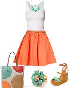 Outfit for summer fashion