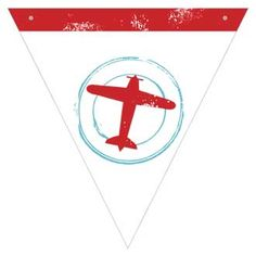 Vintage Airplane Baby Shower Printables - Precious Cargo by I Heart to Party