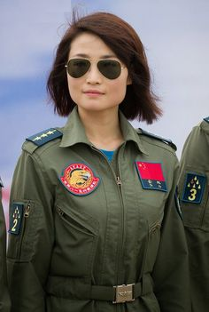 First group of women fighter pilots of the J-10 fighter jet, have made ...