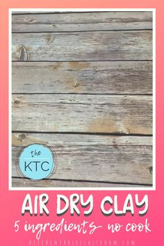 Polymer Clay Crafts, Diy Clay, Diy Air Dry Clay, Clay Supplies, Clay Art Projects, Kid Projects, Homemade Clay, Clay Recipe, Church Crafts