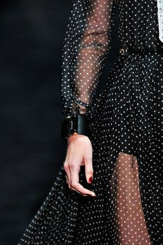 Gucci, dress detail