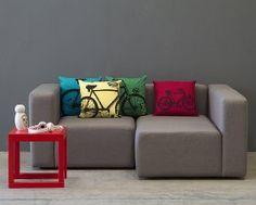 Sugestões para o Natal Sofá Modus 3 Lugares com Chaise Esquerdo Cinza Claro