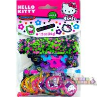 "Hello Kitty ""Neon Tween"" Confetti Value Pack  http://hardtofindpartysupplies.com/Hello-Kitty-Birthday-Party-Supplies/Hello-Kitty-Neon-Tween-Confetti-decorations"