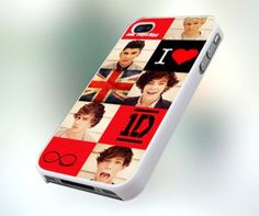 One Direction phone case :) if I ever get an iPhone I'm totally getting this case.