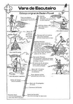 exploradores 402: Vara de Escuteiro