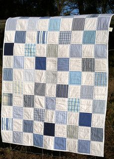 shirts baby quilt | by Mrs. Quilts a Lot
