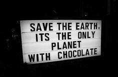 Chocolate,one love!