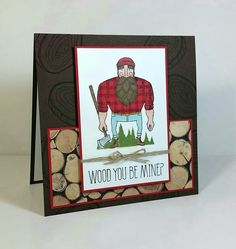 2015 Stampin' Up! Wood You Be Mine? Valentines