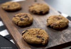 wholemeal chocolate chip cookies / vollkornplätzchen mit schokoladenstückchen Chocolate Chip Cookies, Chips, Ice Cream, Cupcakes, Dinner, Desserts, Recipes, Food, Whole Wheat Flour