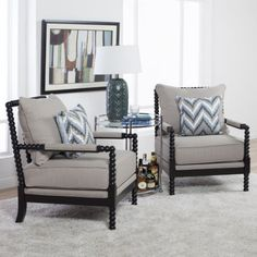 Studio Designs Home Colonnade Spindle Accent Chair White & Studio Designs Home Colonnade Spindle Chair (Brown) | Pinterest ...