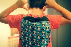Raccoon Backpack by Bibadu on Etsy
