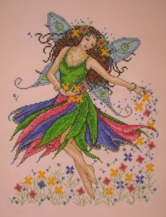 Snailfaerie's Cross Stitch: Welcoming Spring! (...and my new blog!)