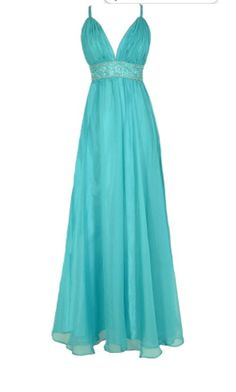 beautiful long blue maxi dress