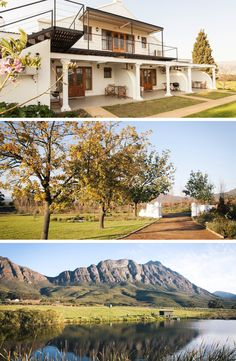 At Raptor Rise you'll be charmed by magical mountains, luxury, green trees and heavenly peacefulness.  #Tulbagh #farm #heaven #TravelThursday #moutains #smalltownlife