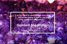 Guided Meditations use stillness and breath to clear the mind and establish channels to one's higher consciousness and the universe; turning the mind inwards to connect with an inner calm and an inner peace. Dealing With Stress, Higher Consciousness, Negative Emotions, Do It Right, Guided Meditation, Inner Peace, Grief, Self Care, Raising