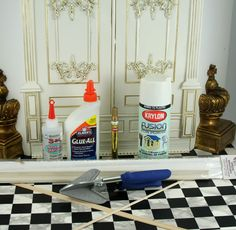 Ornate Wall Panel - Things I used by think_pink1265, via Flickr blogged about at raberry65.wordpress.com/