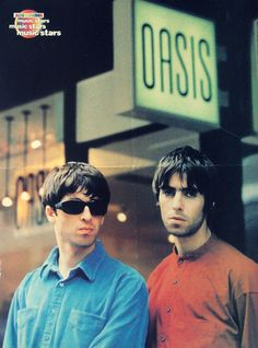 Noel and Liam Gallagher Lennon Gallagher, Liam Gallagher Oasis, Noel Gallagher, Rock N Roll, Rock And Roll Bands, Liam Oasis, Oasis Fashion, Oasis Band, Liam And Noel