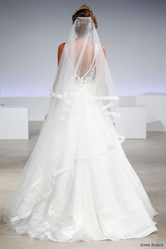 anne barge fall 2017 bridal sleeveless v neck heavily embellished princess elegant a  line wedding dress v back sweep train (sidney) bv