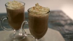 Frozen Coffee & Brandy Cocktail Recipe   The Chew - ABC.com