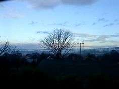 Misty Castlemaine in the depths of winter