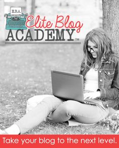 Have you ever wanted to take your blog to the next level? Start making money with your blog by enrolling in Elite Blog Academy. Doors close TONIGHT!