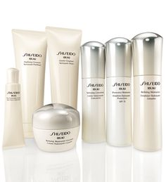 Shiseido Ibuki  Skincare . Anti Agin for younger looking skin , stress, Face Skin Resistance