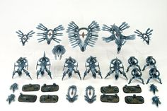 What's On Your Table: Shaltari Army - Faeit Warhammer News and Rumors Painting Competition, Bioshock, Board Games, Color Schemes, Sci Fi, Photo Wall, Army, Warhammer 40k, Science Fiction