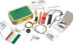 What You Need for a Survival Kit - SEE THE BEST SURVIVAL PRODUCTS AT http://www.selfdefensegearco.com/survival-gear.php