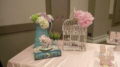 Money Box at Tea Party Bridal Shower