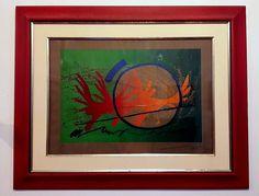 Gilberto Salvador - gravura serigráfica
